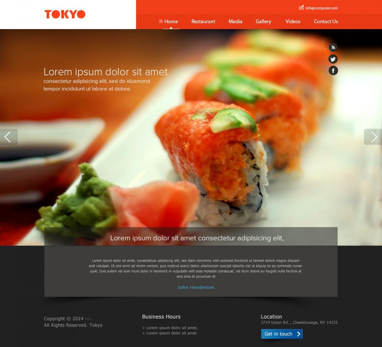 Service Website PSD Design